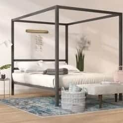 Budget Furniture - Coleman Canopy Bed width=