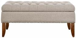 Budget Furniture - Mortensen Upholstered Storage Bench width=