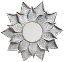 Budget Furniture - Stacy Multi Layer Flower Accent Mirror width=