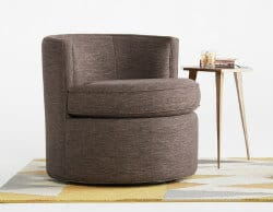 unique furniture - carly swivel chair