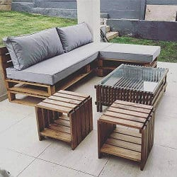 unique furniture - patio furniture set