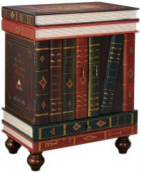 unique furniture - stacked books