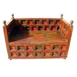 unique furniture - wood bench