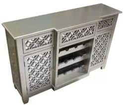 Bohemian Furniture - Bethany 12 Bottle Floor Wine Cabinet