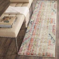 Bohemian Furniture - Bohemian Multi Distressed Runner Rug