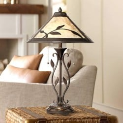 Bohemian Furniture - Feuille Rustic Table Lamp