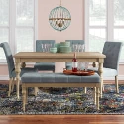 Bohemian Furniture - Kenleigh 6 Piece Dining Set