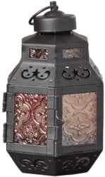 Bohemian Furniture - Rylan GlassMetal Lantern
