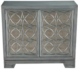 Bohemian Furniture - Stevenson Modern Style 2 Door Accent Bar Cabinet With Undertone