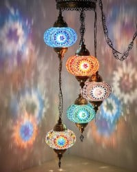 Bohemian Furniture - Turkish Lamp