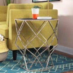 minimalist bohemian furniture - Siewert Accent Table