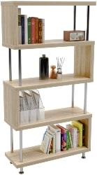 17. Geometric Bookcase S-Shaped (1)