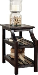 22. Rustic Wooden End Table (1)