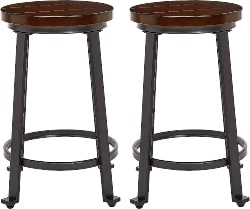 23. Rustic Bar Stool (1)