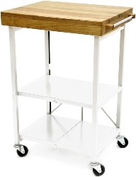 25. Kitchen Island with Metal Open Shelf (1)