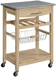 26. Rolling Kitchen Island Cart (1)