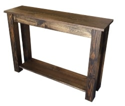 44. Rustic Console Table