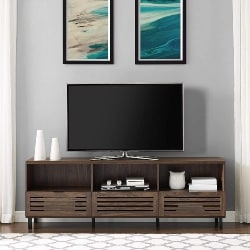 9. TV Stand with Cabinet and Storage (1)
