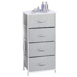 apartment furniture - 4-Drawer Storage Organizer Dresser