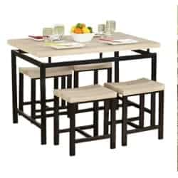 apartment furniture - Bryson 5 Piece Dining Set