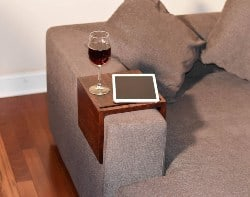apartment furniture - Custom Sofa Arm Tray