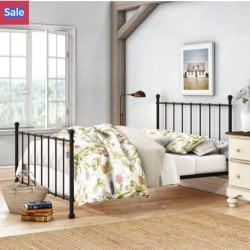 apartment furniture - Eleanore Full_Double Platform Bed