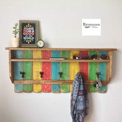 apartment furniture - Entryway Wood Shelf