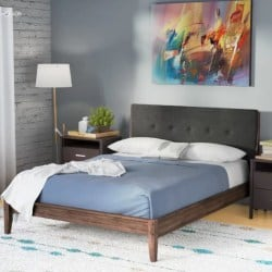 apartment furniture -Hayworth Upholstered Platform Bed