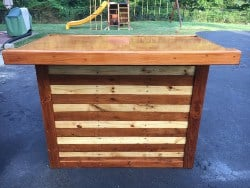 apartment furniture - Pallet Bar