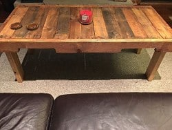 apartment furniture - Reclaimed Wood Coffee Table Pallet Home Furniture