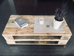 apartment furnitutre - Pallet furniture table