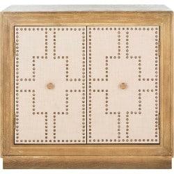 traditional furniture - AZULI 2 DOOR CHEST