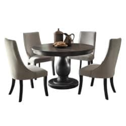 traditional furniture - Barrington 5 Piece Dining Set