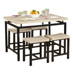 traditional furniture - Bryson 5 Piece Dining Set