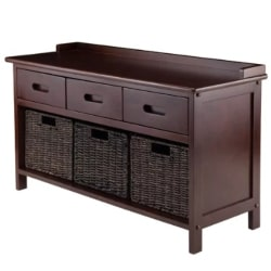 traditional furniture - Duncan 4 Piece Storage Bench