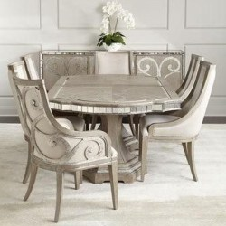 traditional furniture - Juliet Rectangular Dining Table
