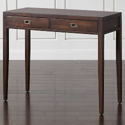 traditional furniture - Leick Furniture Mission Drawer End Table, Solid ash and oak veneers