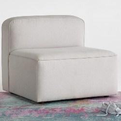 traditional furniture - Logan Armless Chair