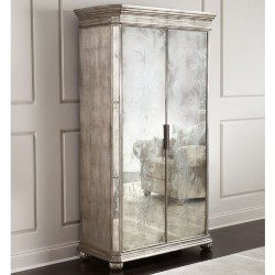 traditional furniture - Lucero Mirrored Cabinet