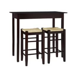 traditional furniture - Tenney 3 Piece Counter Height Dining Set