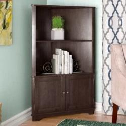 traditional furniture - Vas Corner Bookcase