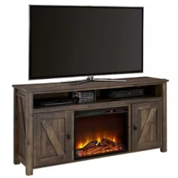 traditional furniture - Whittier TV Stand for TVs up to 60_ with Fireplace