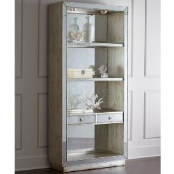 tradtional furniture - Regent Mirrored Bookcase