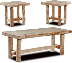 23. 3 Piece Coffee Table Set (1)