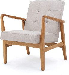 25. Mid Century Modern Club Chair (1)