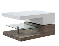 30. Coffee Table With Glass