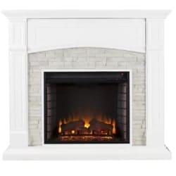 modern living room furniture - Cameron Electric Fireplace