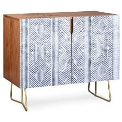 modern living room furniture - Credenza by Holli Zollinger AMAI DENIM