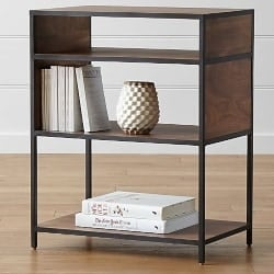 modern living room furniture - Knox Low Open Bookcase