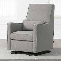 modern living room furniture - Luca Modern Glider